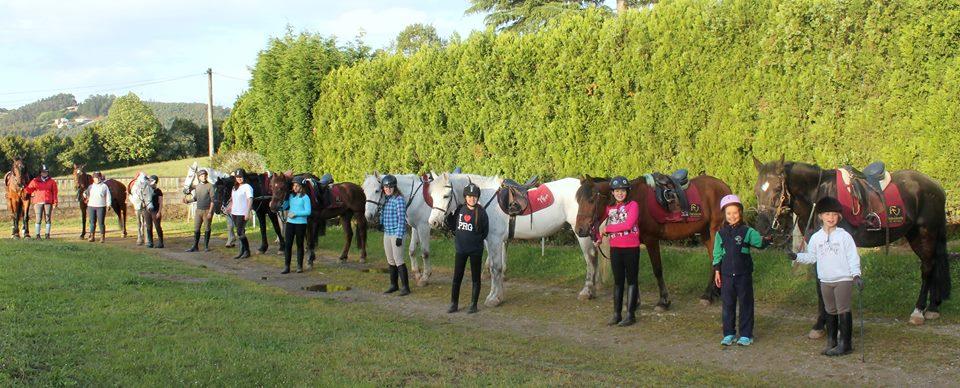 Foto Paseos a caballo Asturias.Campamento Verano Gijon